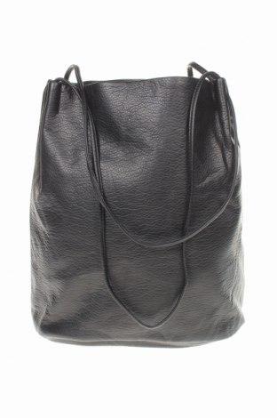 Дамска чанта, Цвят Черен, Еко кожа, Цена 23,62лв.
