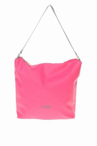 Γυναικεία τσάντα Bree, Χρώμα Ρόζ , Πολυουρεθάνης, Τιμή 57,60€