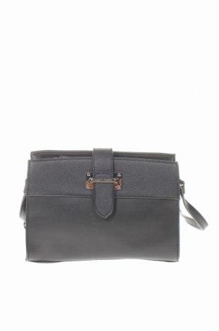 Дамска чанта David Jones, Цвят Черен, Еко кожа, Цена 17,75лв.