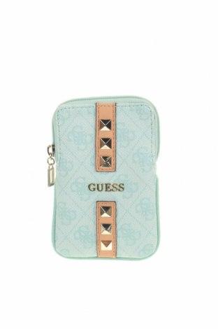 Дамска чанта Guess, Цвят Зелен, Еко кожа, Цена 37,49лв.