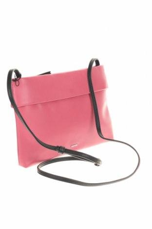 Дамска чанта Parfois, Цвят Розов, Еко кожа, Цена 15,68лв.