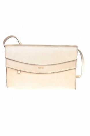 Дамска чанта Parfois, Цвят Бежов, Текстил, еко кожа, Цена 13,72лв.
