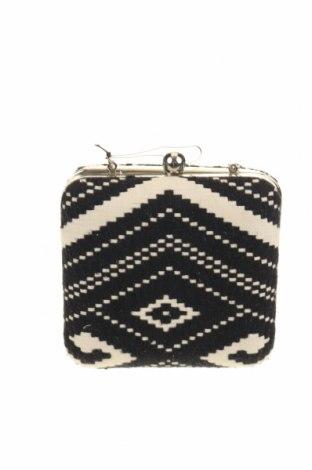 Дамска чанта Parfois, Цвят Черен, Текстил, Цена 18,36лв.
