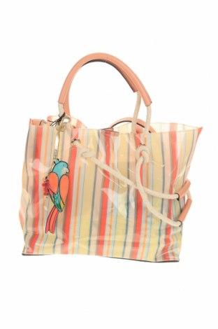 Дамска чанта Parfois, Цвят Многоцветен, Полиуретан, Цена 26,66лв.