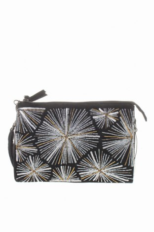 Γυναικεία τσάντα Parfois, Χρώμα Μαύρο, Φυσικό σουέτ, κλωστοϋφαντουργικά προϊόντα, Τιμή 14,29€