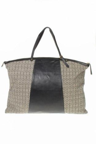 Дамска чанта TWINSET, Цвят Бял, Естествена кожа, текстил, Цена 239,25лв.