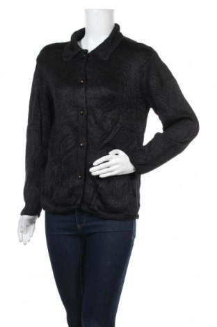 Γυναικεία ζακέτα, Μέγεθος L, Χρώμα Μαύρο, Τιμή 4,77€