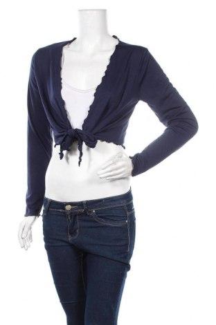 Γυναικεία ζακέτα, Μέγεθος L, Χρώμα Μπλέ, Τιμή 4,14€