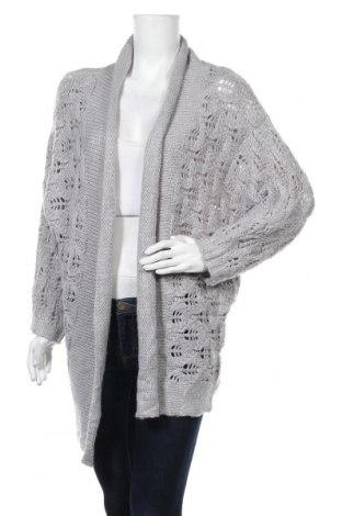 Γυναικεία ζακέτα Ally, Μέγεθος S, Χρώμα Γκρί, Ακρυλικό, Τιμή 5,07€