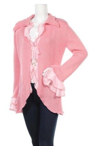 Γυναικεία ζακέτα Apart, Μέγεθος XL, Χρώμα Ρόζ , 40% πολυακρυλικό, 30% μοχαίρ, 30% πολυαμίδη, Τιμή 10,09€