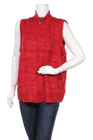 Γυναικείο γιλέκο BelAir, Μέγεθος L, Χρώμα Κόκκινο, Ακρυλικό, Τιμή 8,18€