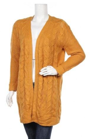 Γυναικεία ζακέτα Best Mountain, Μέγεθος M, Χρώμα Κίτρινο, 85%ακρυλικό, 15% μαλλί, Τιμή 19,74€