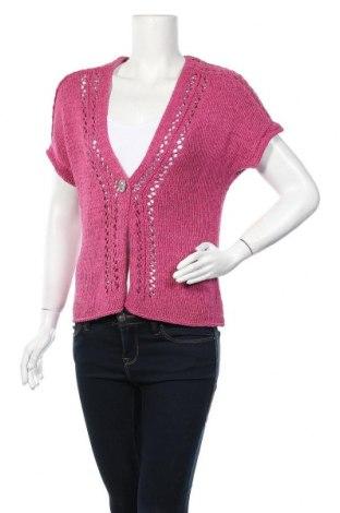 Дамска жилетка Bonita, Размер M, Цвят Розов, 65% полиакрил, 35% полиамид, Цена 8,22лв.