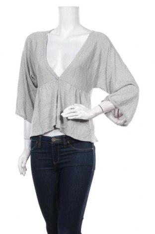 Дамска жилетка H&M, Размер M, Цвят Сребрист, Цена 6,04лв.
