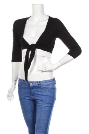 Γυναικεία ζακέτα H&M, Μέγεθος S, Χρώμα Μαύρο, Βισκόζη, Τιμή 4,48€