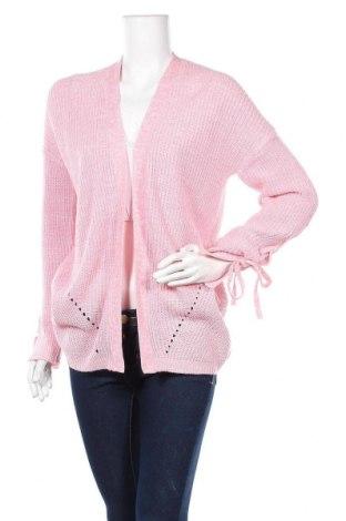 Γυναικεία ζακέτα Janina, Μέγεθος M, Χρώμα Ρόζ , Πολυακρυλικό, Τιμή 5,91€
