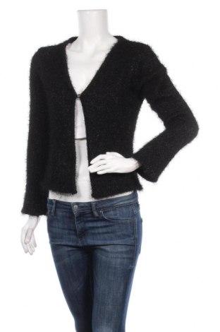 Γυναικεία ζακέτα KappAhl, Μέγεθος XL, Χρώμα Μαύρο, 93% πολυεστέρας, 7% μεταλλικά νήματα, Τιμή 7,17€