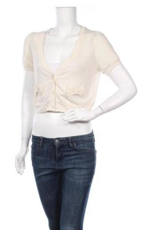 Γυναικεία ζακέτα Molly Bracken, Μέγεθος M, Χρώμα Εκρού, Πολυεστέρας, Τιμή 3,57€