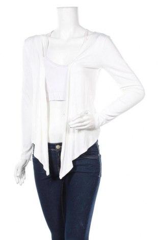 Γυναικεία ζακέτα New Look, Μέγεθος S, Χρώμα Εκρού, 95% βισκόζη, 5% ελαστάνη, Τιμή 5,68€