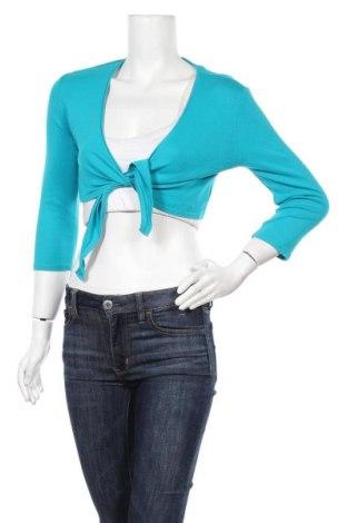 Γυναικεία ζακέτα S.Oliver, Μέγεθος M, Χρώμα Μπλέ, Βαμβάκι, Τιμή 5,46€