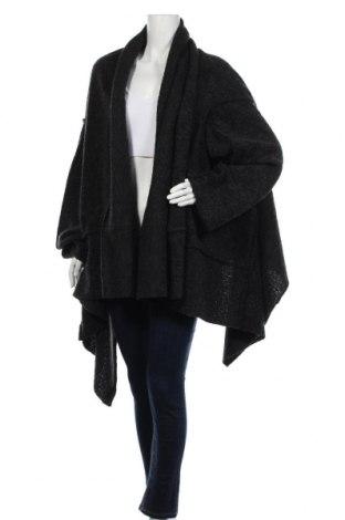 Γυναικεία ζακέτα Sulu, Μέγεθος M, Χρώμα Μαύρο, 80% πολυεστέρας, 20% μαλλί, Τιμή 14,52€