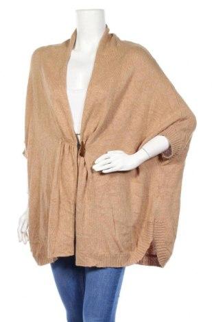 Γυναικεία ζακέτα Sutherland, Μέγεθος XL, Χρώμα  Μπέζ, 37% βισκόζη, 35% βαμβάκι, 25% πολυαμίδη, 3% ανγκορά, Τιμή 14,36€