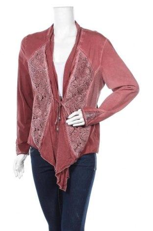 Дамска жилетка Top Secret, Размер L, Цвят Червен, 92% памук, 8% еластан, Цена 5,78лв.