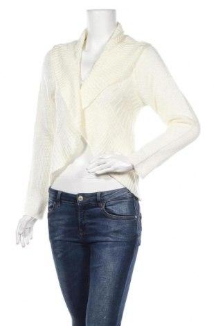 Γυναικεία ζακέτα Tout Feu Tout Femme, Μέγεθος M, Χρώμα Λευκό, 60%ακρυλικό, 40% πολυαμίδη, Τιμή 6,14€