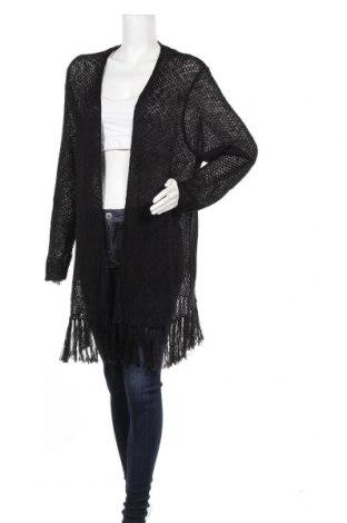 Γυναικεία ζακέτα Via Appia, Μέγεθος XL, Χρώμα Μαύρο, 92% πολυακρυλικό, 8% πολυαμίδη, Τιμή 8,45€