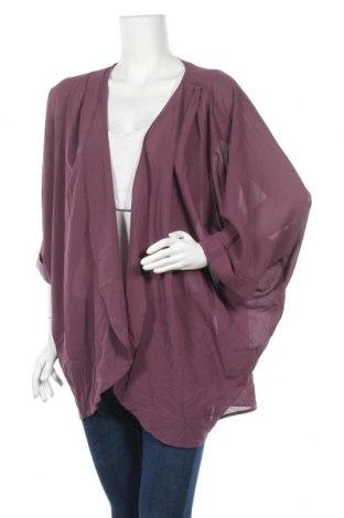 Дамска жилетка Zenana Outfitters, Размер XL, Цвят Лилав, Полиестер, Цена 8,40лв.