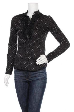 Дамска риза, Размер XS, Цвят Черен, Цена 14,28лв.