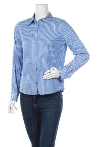 Дамска риза, Размер M, Цвят Син, 98% памук, 2% еластан, Цена 18,90лв.