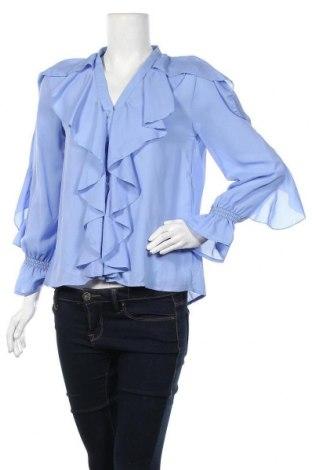 Дамска риза, Размер M, Цвят Син, Полиестер, Цена 11,97лв.