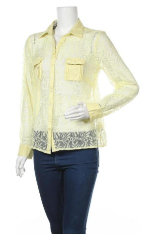 Γυναικείο πουκάμισο B.C. Best Connections, Μέγεθος L, Χρώμα Κίτρινο, Πολυαμίδη, Τιμή 5,52€