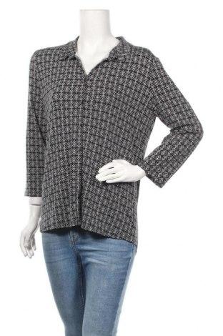 Γυναικείο πουκάμισο Caroll, Μέγεθος L, Χρώμα Μαύρο, 96% βισκόζη, 4% ελαστάνη, Τιμή 7,27€
