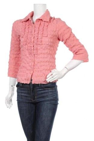 Дамска риза Cars, Размер M, Цвят Розов, 94% полиестер, 6% еластан, Цена 5,67лв.