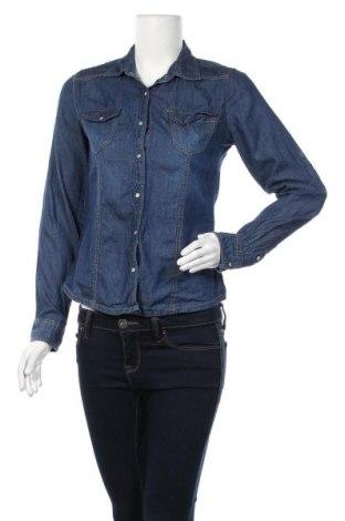 Γυναικείο πουκάμισο Charlotte Russe, Μέγεθος M, Χρώμα Μπλέ, Βαμβάκι, Τιμή 9,25€