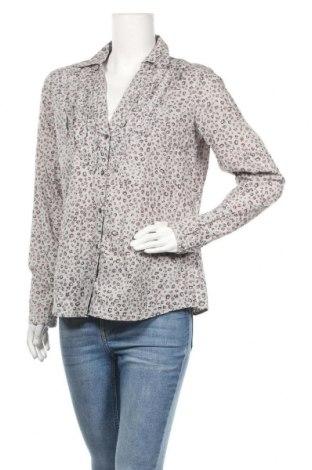 Дамска риза Esprit, Размер L, Цвят Сив, Памук, Цена 17,85лв.