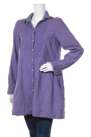 Γυναικείο πουκάμισο Gant, Μέγεθος XL, Χρώμα Βιολετί, Βαμβάκι, Τιμή 24,68€