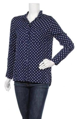 Дамска риза H&M Divided, Размер M, Цвят Син, Вискоза, Цена 17,85лв.