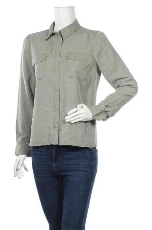 Дамска риза Hallhuber, Размер M, Цвят Зелен, Модал, Цена 26,93лв.