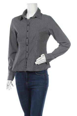 Дамска риза Joy, Размер M, Цвят Сив, 62% памук, 38% полиестер, Цена 4,46лв.