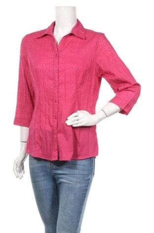 Дамска риза Laura T., Размер M, Цвят Розов, 65% полиестер, 35% памук, Цена 4,99лв.