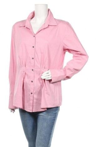 Γυναικείο πουκάμισο Laurel, Μέγεθος XL, Χρώμα Ρόζ , 68% βαμβάκι, 28% πολυαμίδη, 4% ελαστάνη, Τιμή 17,28€