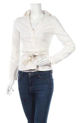 Дамска риза Motivi, Размер S, Цвят Екрю, 65% памук, 29% полиамид, 3% метални нишки, 3% еластан, Цена 7,56лв.