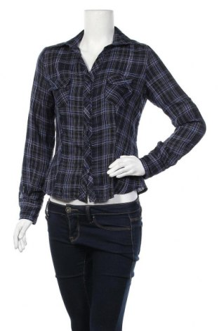 Γυναικείο πουκάμισο Nuna Lie, Μέγεθος M, Χρώμα Μπλέ, 75% βαμβάκι, 25% πολυεστέρας, Τιμή 9,35€