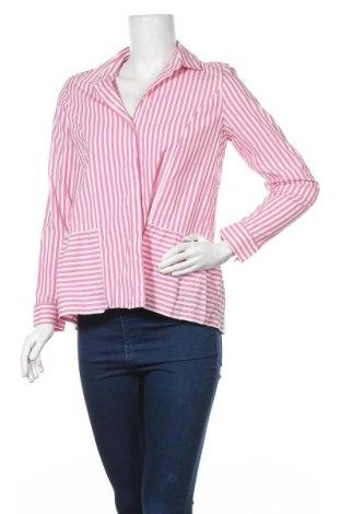 Дамска риза Rich & Royal, Размер S, Цвят Розов, 85% памук, 11% полиамид, 4% еластан, Цена 37,91лв.