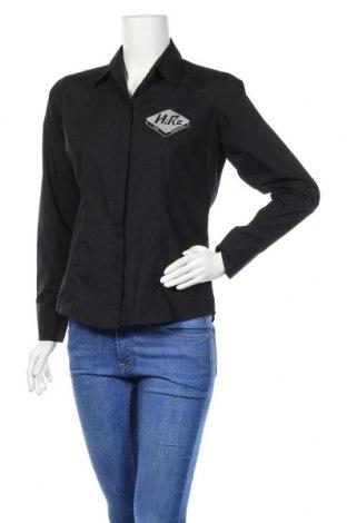 Дамска риза Russell Collection, Размер M, Цвят Черен, 65% полиестер, 35% памук, Цена 4,73лв.