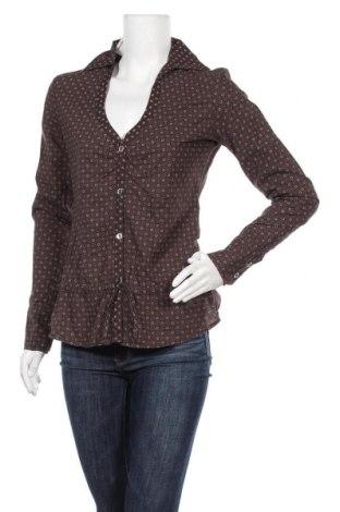 Дамска риза Tom Tailor, Размер S, Цвят Кафяв, Памук, Цена 35,70лв.