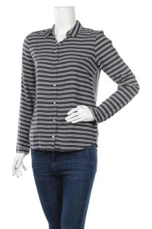 Дамска риза Tom Tailor, Размер S, Цвят Черен, Вискоза, Цена 5,78лв.